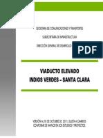 Proyecto Viaducto Elevado Indios Verdes - Santa Clara