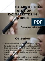Story About the Status Of E-Cigarettes in World