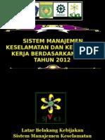 4. SMK3 PP-50 tahun 2012