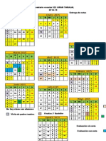Calendario Escolar IES GRAN TARAJAL 2015