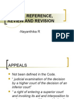 Appeal, Reference, Review and Revision