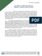 Recomendaciones de Ejercicio Fisico y Prevencion de Osteoporosis Caidas y Fracturas