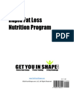 21 Day Fat Loss Nutrition Program Book