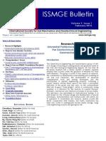 ISSMGE Bulletin