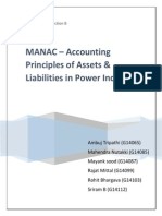 MANAC - Assets & Liabilities Power Industry