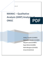 MANAC - GRIP Analysis ONGC