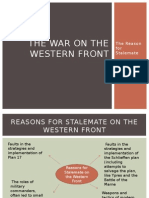 The War on the Western Front