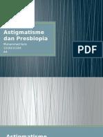 Astigmatisme Dan Presbiopia