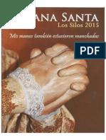 Programa Semana Santa Los Silos 2015