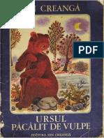 Ursul pacalit de vulpe - Ion Creanga (ilustratii de Ileana Ceausu-Pandele).pdf