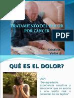 TRATAMIENTO DEL DOLOR POR CÁNCER