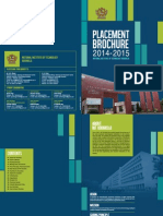 Placement Brochure NIT Rourkela 2014-15