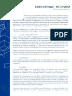 Matis Group - Charte Dethique