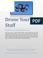 Drone Your Stuff Proposition