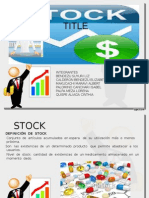 Stock DE MEDICAMENTOS