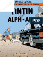 24 Tintin and Alph-Art