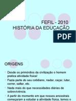 História Da Ed Física
