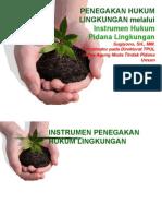 Penegakan Hukum Lingkungan Pidana
