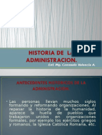 1 Historia de La Adm
