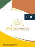 Manual de Utilização da Marca - Multialimentos