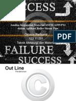 Analisa Kegagalan Material Astm a355