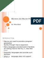 Macro and Macro Preprocessor