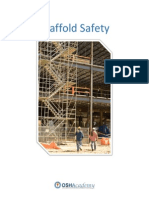 OSHA Scaffold Safety