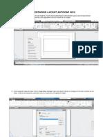 Presentacion Layout Autocad 2014