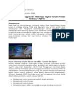 Perkembangan Teknologi Arsitektur 1