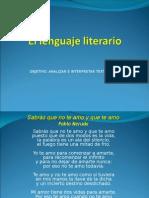Clase Lenguaje Literario