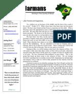 Harman Prayer Letter April, 2008