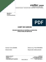 Caiet de Sarcini General - Fabricatie Structura