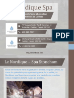 Le Nordique – Spas et massage dans la nature près de Québec