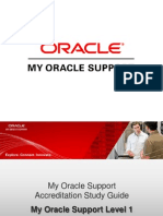 My Oracle Support Accreditation Study Guide
