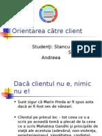 Orientarea Catre Client