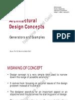 Architectural Design Concepts Pr