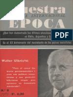 Revista Internacional - Nuestra Epoca N°5 - mayo 1965 - Edición Chilena