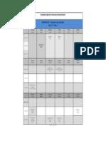 GDBA Tentative Exam Schedule (Jan 13) W2015