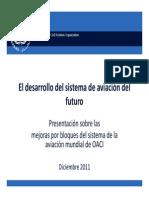 ICAO El desarrollo del sistema de aviación del futuro