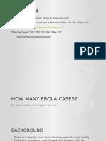 how many ebola cases