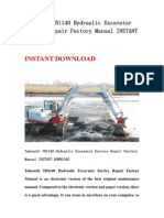 Takeuchi TB1140 Hydraulic Excavator Service Repair Factory Manual INSTANT DOWNLOAD.pdf