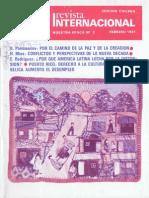Revista Internacional - Nuestra Epoca N°2 - febrero 1981 - Edición Chilena