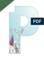 Litere Primavara