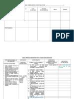 0. Cartel y Matriz del  1° al 5° año sec - ODEC 2015