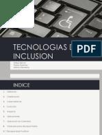 Tecnologías de Inclusión