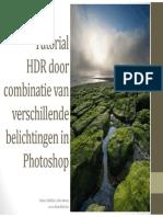 Tutorial HDR Exposure Blending Dama NL Rev A