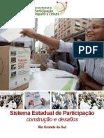 Sistema Estadual de Participação construção e desafios