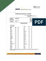 Analisis de Residuos de Pesticidas Fundo La Esperanza