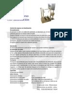 Ficha Sanitizacion, equipo requerido para la insutria de los alimentos