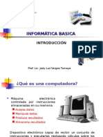 INTRODUCCION INFORMÁTICA